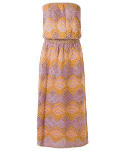 Gig | Knit Midi Dress P Polyamide/Viscose/Metallized Polyester