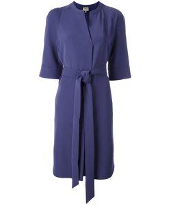 Armani Collezioni | Wrap Dress 46 Polyester