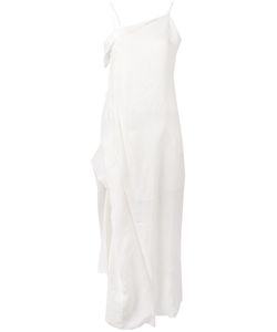 Isabel Benenato | Asymmetric Draped Dress Size 40