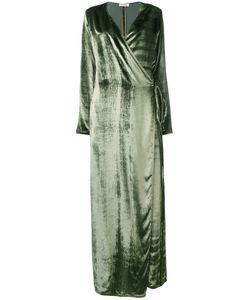 ATTICO   Maxi Wrap Dress 2