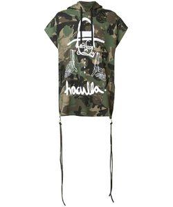 HACULLA | Camouflage Print Shortsleeved Hoodie