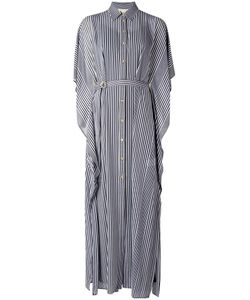 Michael Michael Kors | Striped Maxi Dress Small Polyester