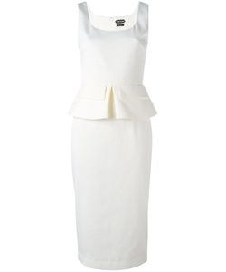 Tom Ford | Fitted Dress 42 Cotton/Spandex/Elastane/Viscose/Spandex/Elastane