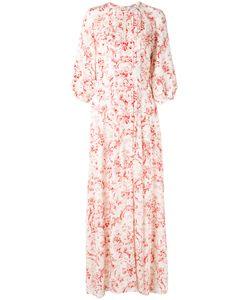 VILSHENKO | Платье С Цветочным Принтом