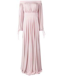 Alexander McQueen | Длинное Платье С Открытыми Плечами