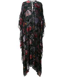 Adam Lippes | Burnout Velvet Kaftan Gown