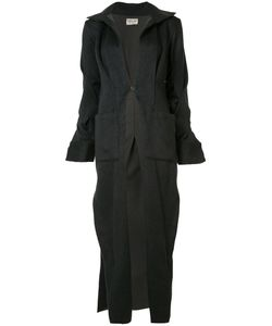 SABINE LUISE | Box Pleat Cardi-Coat Size Small