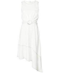 Derek Lam 10 Crosby | Асимметричное Платье С Поясом