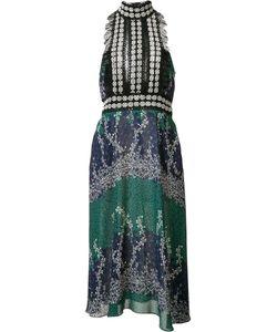 Yigal Azrouel | Ivy Trellis Jabot Dress 6 Polyester/Spandex/Elastane