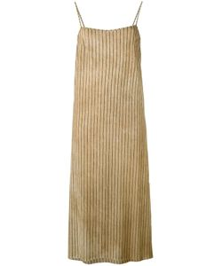 UMA WANG | Полосатое Платье Шифт