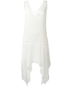 Just Cavalli | Embroide Asymmetric Hem Dress 38 Viscose/Polyester
