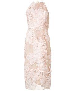 Marchesa Notte | Halterneck Dress 10 Nylon