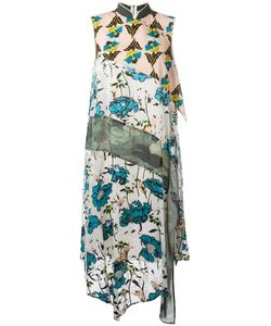 Antonio Marras | Print Dress 42 Viscose/Polyester/Polyamide/Acetate