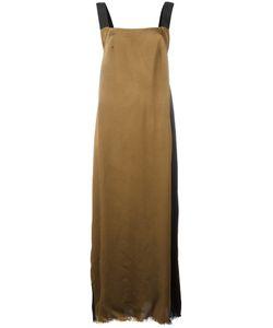 UMA WANG   Two-Tone Long Dress Size Medium
