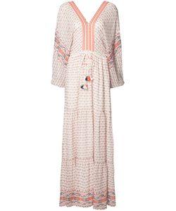 Ulla Johnson | Tassel Detail Maxi Dress 4 Polyester/Silk