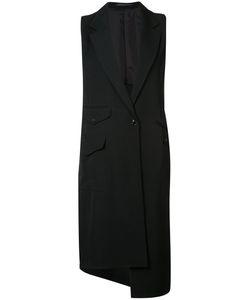 Y'S | Sleeveless Coat 2 Cupro/Wool