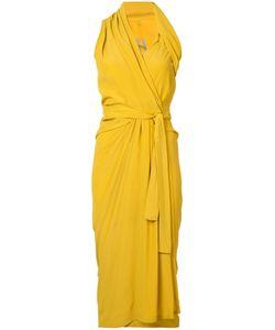 Rick Owens   Wrap Dress Size