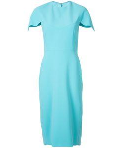 CHRISTIAN SIRIANO | Scalloped Sleeve Dress