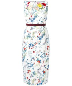 Antonio Marras | Print Dress 44 Cotton/Polyurethane/Spandex/Elastane
