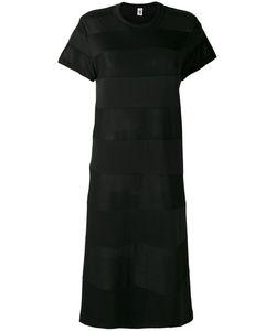 Comme Des Garçons Noir Kei Ninomiya | Mid-Length Sheer Panel Dress