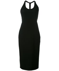 Tom Ford | Back T-Strap Fitted Dress Size