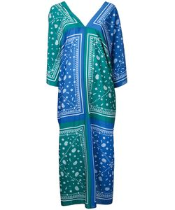 FLEAMADONNA | Paisley-Print Kaftan Dress Size Medium