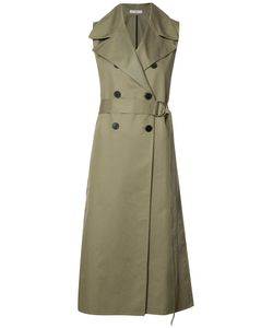 TOME | Sleeveless Belted Trench Xs Cotton