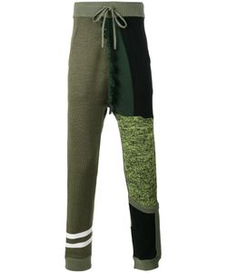LIAM HODGES | Structures Knitted Track Pants Men