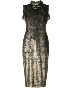 Antonio Marras | Узкое Платье С Высоким Горлышком С Заворотом