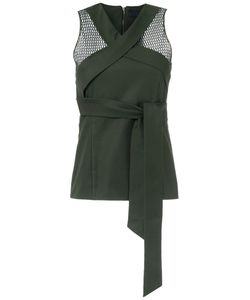 GIULIANA ROMANNO | Tie Detail Top Size 38
