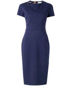 Victoria Beckham | Fitted Shoulder Buckle Dress