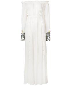 LOYD/FORD | Прозрачное Драпированное Платье-Макси