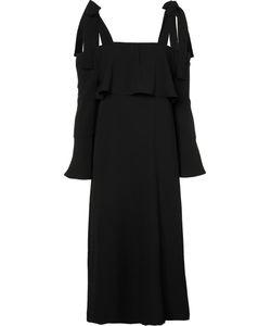 Ganni | Strap Gathered Dress 38