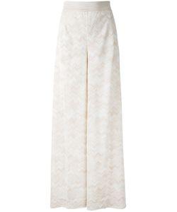 Missoni | Tonal Zigzag Palazzo Pants Size 40