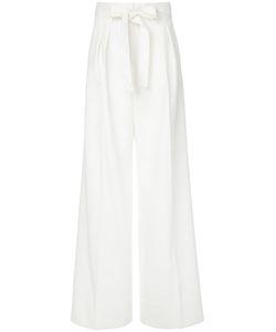Paule Ka | High Waist Woven Trousers Virgin