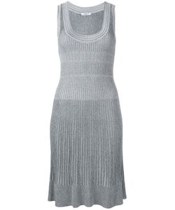 Cacharel | Ribbed Knit Dress Xs Viscose/Polyester