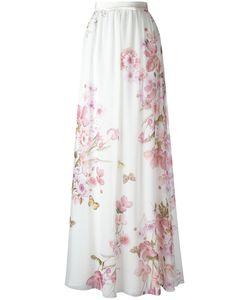 Giambattista Valli | Print Skirt 40 Silk/Cotton/Viscose