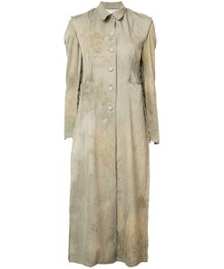 CHEREVICHKIOTVICHKI | Buttoned Distressed Dress M