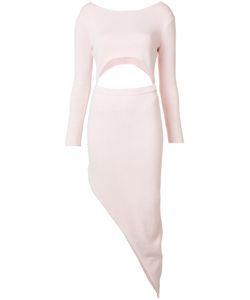 BAJA EAST | Asymmetric Cut-Out Dress 2 Cotton
