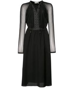 Altuzarra | Lace-Up Studded Dress 36 Silk/Polyester