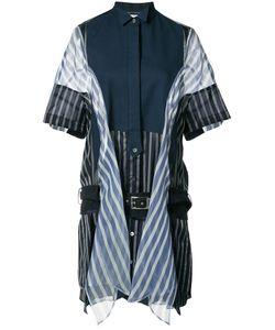 Sacai | Striped Panelled Dress Size 1