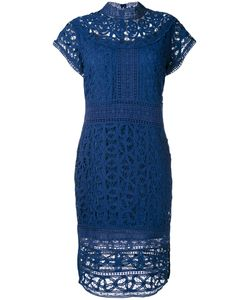 Sea | High Neck Lace Dress
