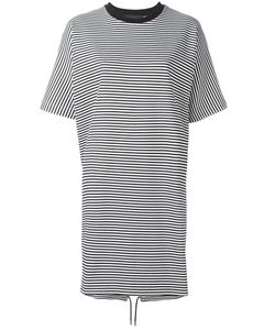 Diesel Black Gold | Striped Dress Small Cotton/Spandex/Elastane/Nylon