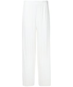 Helmut Lang | Pleated Palazzo Trousers Size Xs