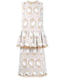 Huishan Zhang | Embroidered Dress Size 8