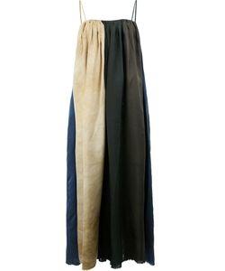 UMA WANG | Colour Block Long Dress Size Medium