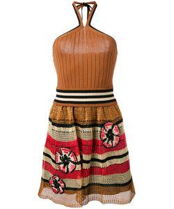 Red Valentino | Knit Halterneck Dress Size Small