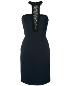 Yigal Azrouel | Lace Inset Fitted Dress Size