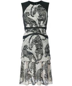 Yigal Azrouel | Платье С Вышитыми Леопардами