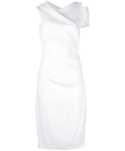 Talbot Runhof   Asymmetric Dress 34 Polyester/Triacetate